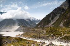 Free Views Of Tasman Glacier New Zealand Royalty Free Stock Photos - 20850088
