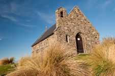 Free Church Of The Good Shepherd, Lake Tekapo Stock Images - 20850604