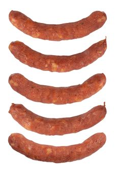 Free Sausages Royalty Free Stock Photography - 20851447