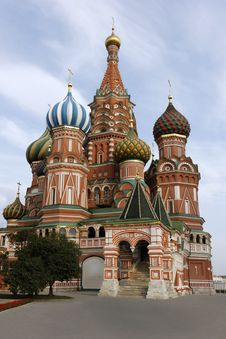 Saint Basil S Cathedral Stock Images