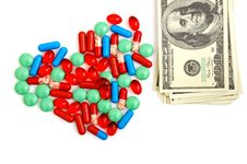 Free Colorful Tablets With Capsules Stock Images - 20852714