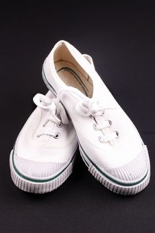 Free A Pair Of White Shoes Stock Images - 20852884