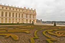 Free Versailles In Winter Royalty Free Stock Photo - 20853165