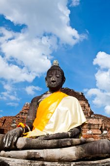 Free Statue Of Buddha, Thailand Stock Images - 20853244