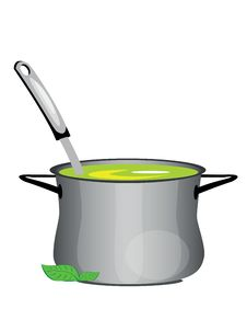 Free Hot Soup Pan Stock Photo - 20853360