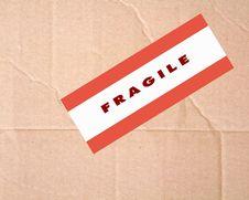 Free Fragile Sign Stock Photos - 20854333