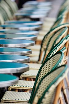 Free Tables And Chairs Stock Photos - 20854853