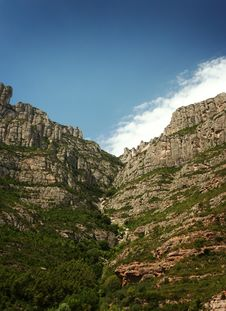 Free Montserrat Mountain 10 Stock Photography - 20856042