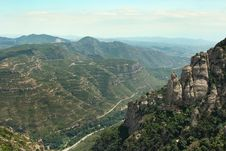 Free Montserrat Mountain 10 Royalty Free Stock Photography - 20856057