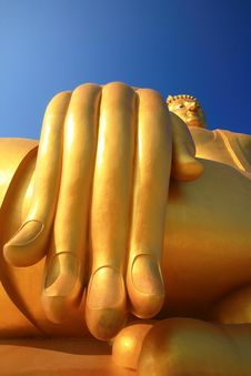 Free Biggest Buddha Statue, Thailand Stock Photos - 20856233