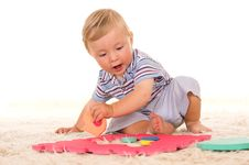 Free Little Boy Playing Stock Photography - 20856422