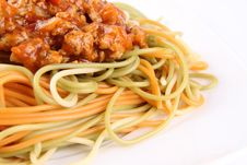 Free Spaghetti Bolognese Royalty Free Stock Photos - 20856668