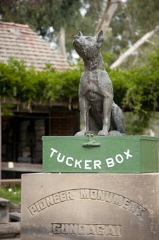 Free Dog On The Tuckerbox Stock Photography - 20856952