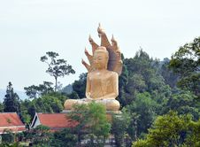 Free Big Budda. Thailand. Island Phuket. Royalty Free Stock Photo - 20856965