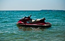 Free JetSki In The Water . Stock Images - 20857224