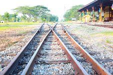 Free Railway Royalty Free Stock Photos - 20857238
