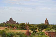 Free Pagodas In Bagan Royalty Free Stock Photography - 20857527