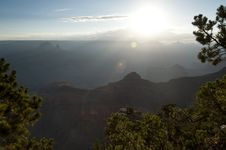 Free Grand Canyon Sunrise Royalty Free Stock Image - 20857546