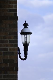 Free Ornate Lamp On A Builgind Stock Photo - 20857920