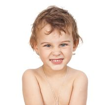 Free Portrait Of A Little Boy Royalty Free Stock Image - 20857986