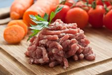 Free Minced Meat Royalty Free Stock Photography - 20857987