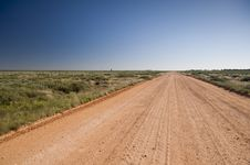 Free Australian Outback Road Royalty Free Stock Photo - 20858145