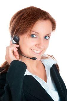 Free Woman Customer Service Stock Photo - 20858170