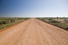 Free Australian Outback Road Royalty Free Stock Images - 20858189