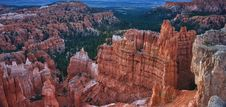 Free The Orange Hoodoos Of Bryce Canyon National Park. Royalty Free Stock Photography - 20858647