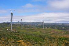 Free Several Aeolian Windmills - Meadas (hanks) Sierra Royalty Free Stock Image - 20858666