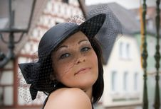 Free The Girl In A Hat Stock Images - 20858704