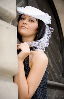 Free The Girl In A Hat Stock Images - 20858794