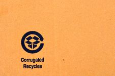 Free Recycle Label Royalty Free Stock Photography - 20859377