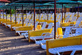 Free Beach Sunbeds Royalty Free Stock Image - 20861146