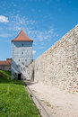 Free Medieval Stone Tower In An Old Town Stock Photos - 20868023