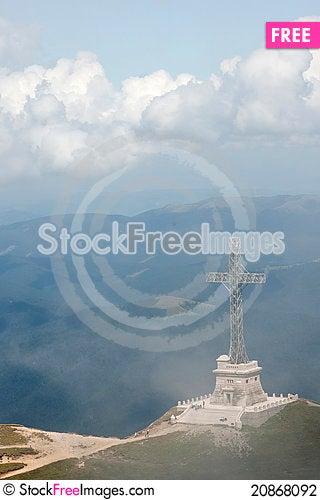 Free Caraiman Heroes Cross Monument Stock Photography - 20868092