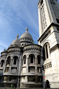 Free The Basilica Of The Sacred Heart , Paris Royalty Free Stock Photos - 20860878