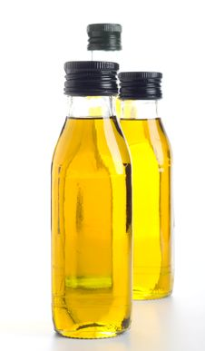 Free Oil Bottles Royalty Free Stock Photo - 20860965
