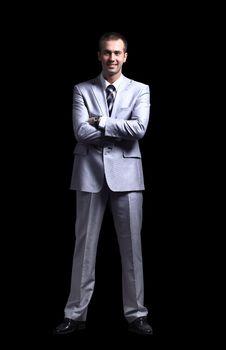 Free Portrait Business Man Stock Image - 20861911