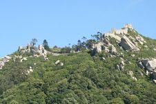 Free Moor Castle Sintra Royalty Free Stock Image - 20861936