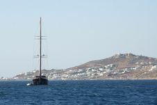 Free Race Yacht - Mykonos, Greece Stock Photography - 20862142