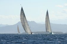 Rolex Maxi Race - Sardinia Royalty Free Stock Photo