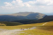 Free The Path Up Skiddaw In The Lake District Stock Photo - 20862520