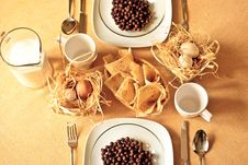Free Country Breakfast Tableware Royalty Free Stock Image - 20863876