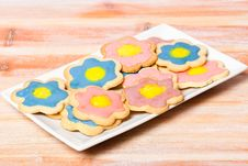 Free Plate Of Homemade Biscuits Royalty Free Stock Images - 20864079