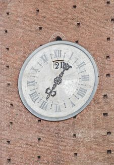 Free Old Tower Clock Stock Images - 20864644