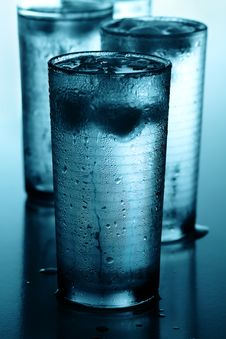 Free Glasses Of Cold Water Royalty Free Stock Images - 20864689