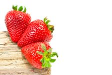 Free Group Of Red Strawberries Royalty Free Stock Photography - 20864717
