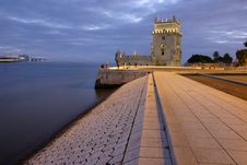 Free Belem Tower Royalty Free Stock Photography - 20864747