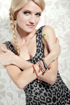 Free Beautiful Blonde Girl Stock Image - 20865441